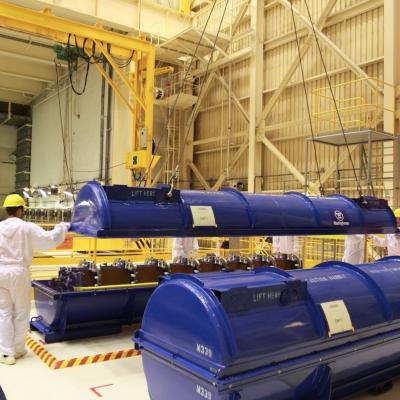 Sprejem jedrskega goriva