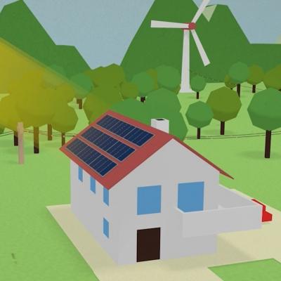 Kako deluje sončna elektrarna?