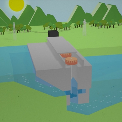 Kako deluje hidroelektrarna?