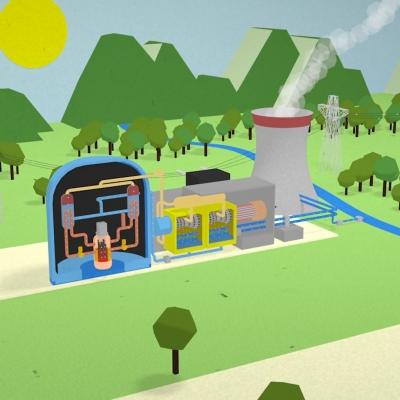 Kako deluje jedrska elektrarna?
