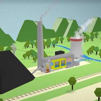 Kako deluje termoelektrarna?