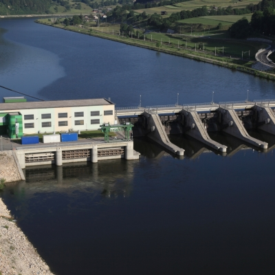 Vrste hidroelektrarn v Sloveniji