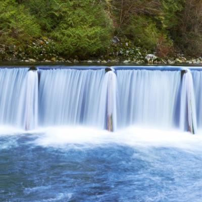 Izgradnja verige hidroelektrarn na srednji Savi