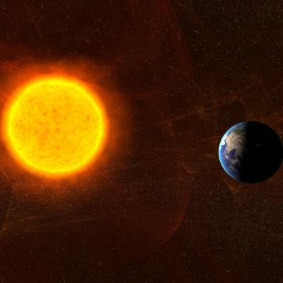 Sonce in Zemlja