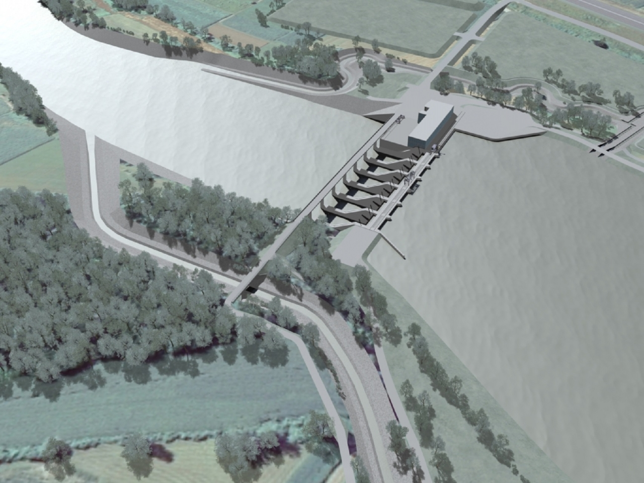 Dokončanje verige hidroelektrarn na spodnji Savi