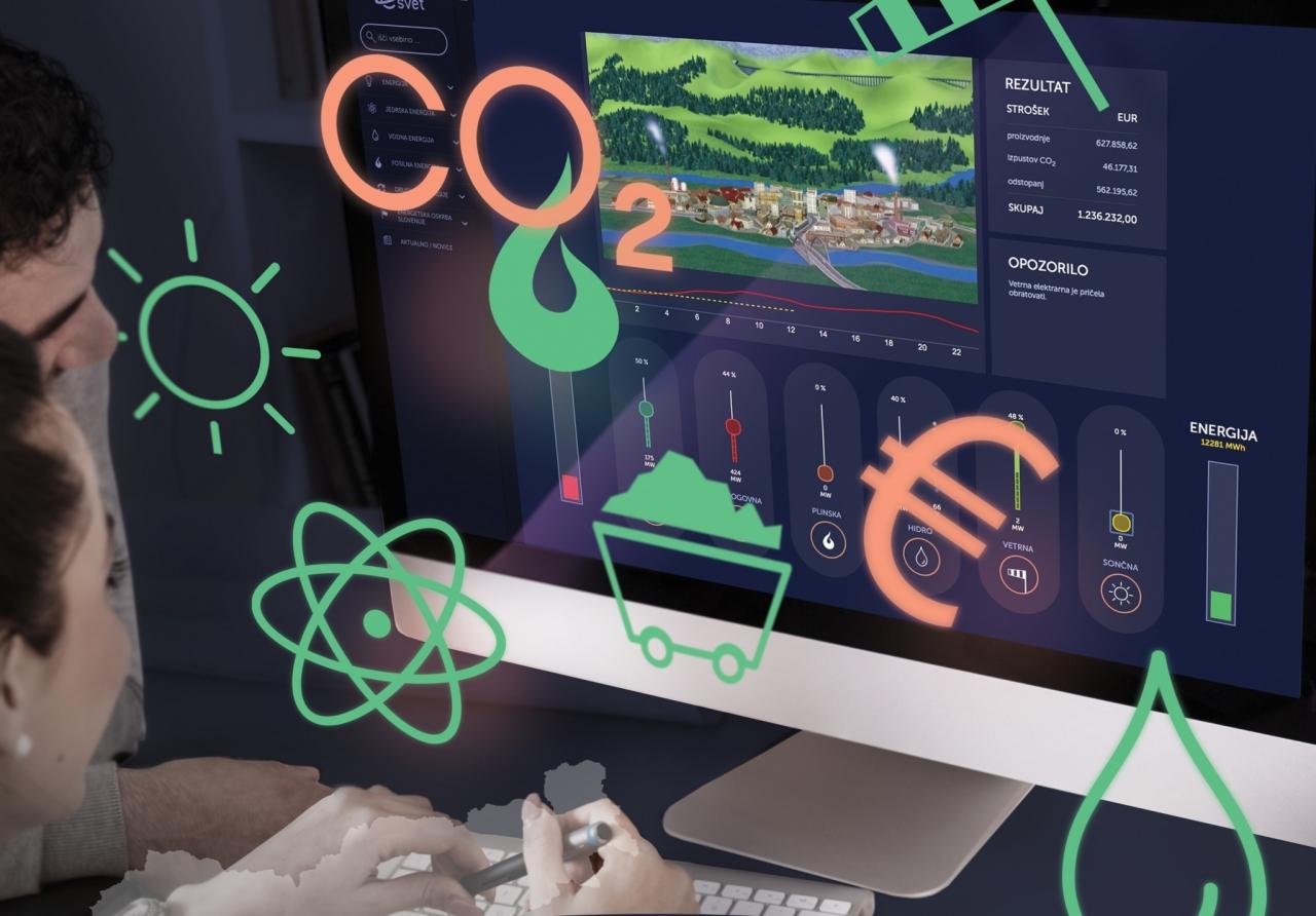 Simulacija delovanja elektroenergetskega sistema