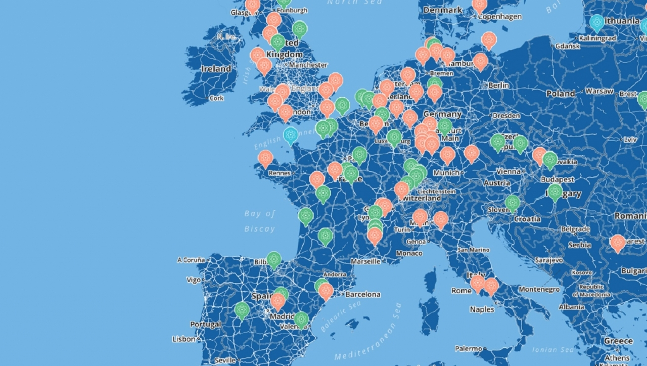 Jedrske elektrarne v Evropi in po svetu