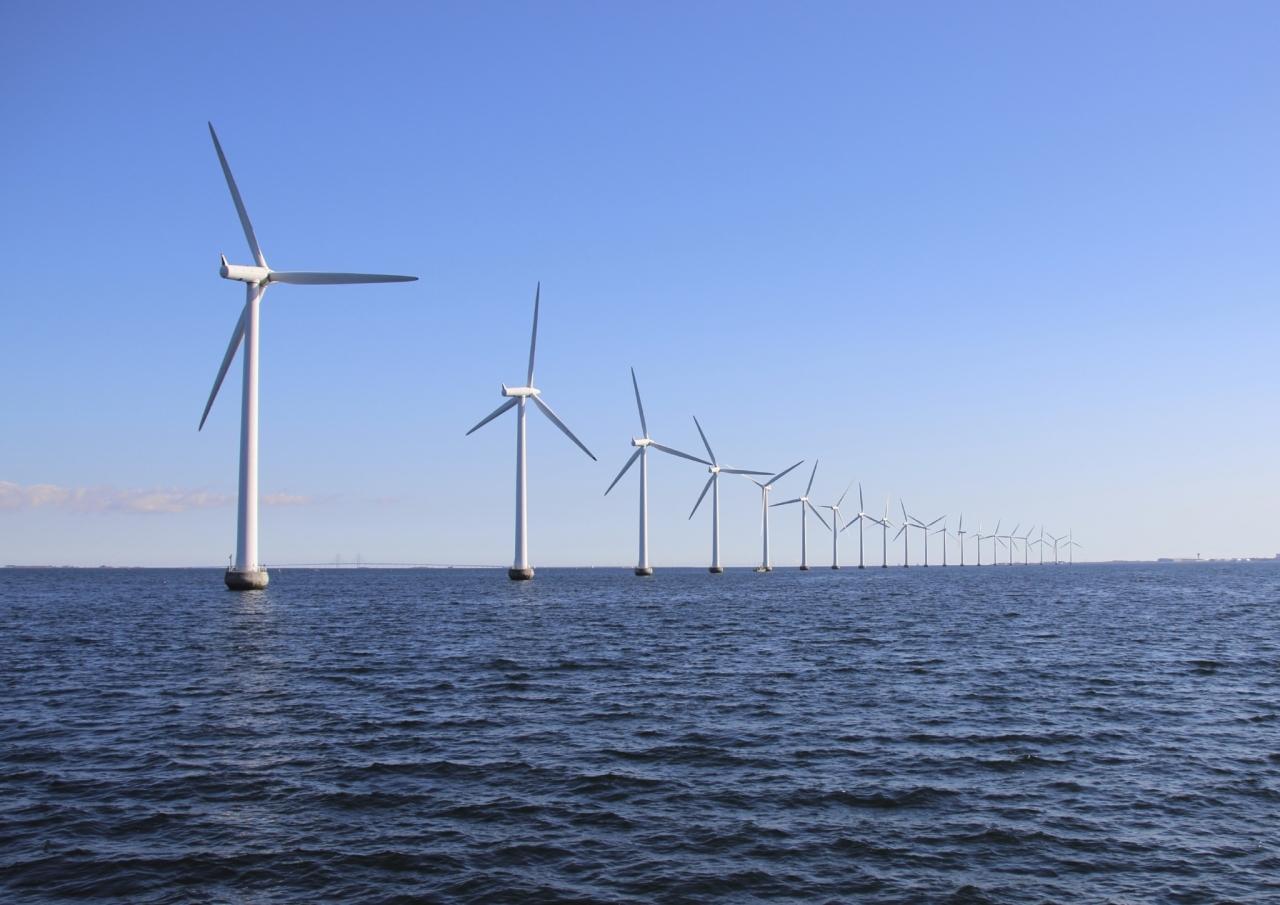 Morske vetrne elektrarne