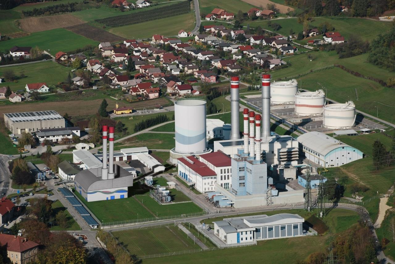 Nov plinski blok Termoelektrarne Brestanica
