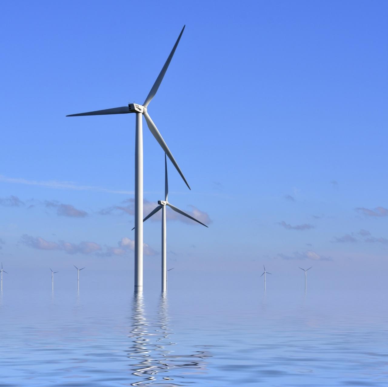 V Evropi porast vetrnih elektrarn na morju