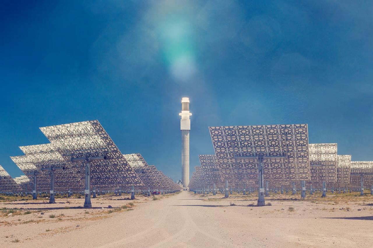 Potencial sonca, soli in stekla za reševanje energetskih potreb Vir: The Guardian