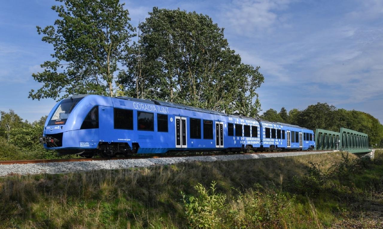 Prvi vlak na vodikov pogon na svetu (Foto: The Guardian, David Hecker/EPA)